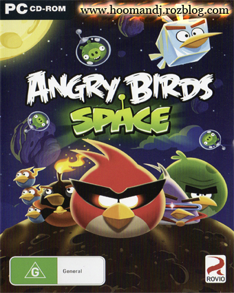 angery birds space